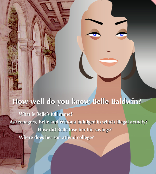 How well do you know belle baldwin?